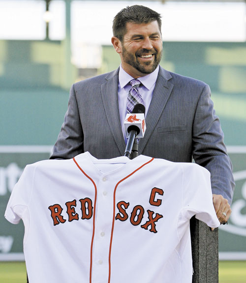 Longtime Red Sox catcher and captain Jason Varitek