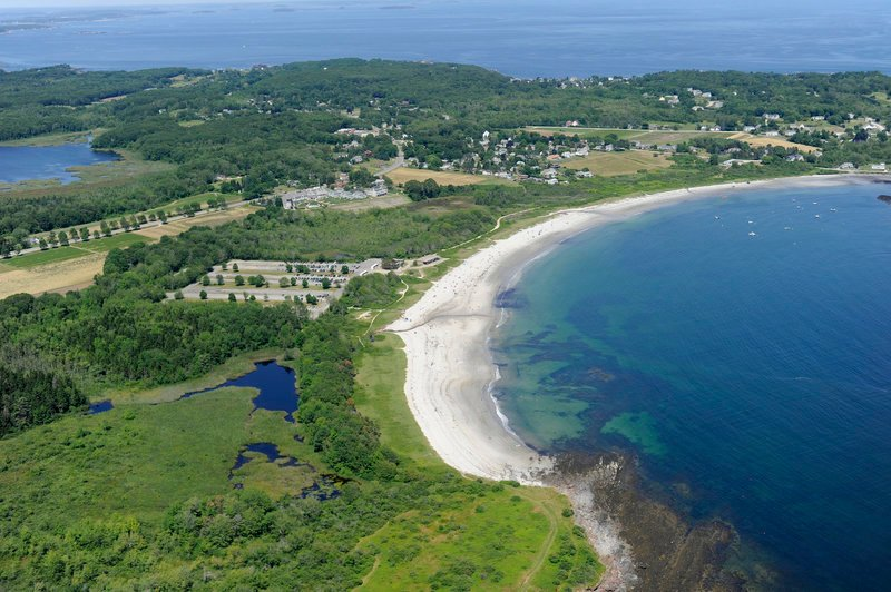 Crescent Beach in Cape Elizabeth