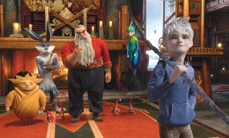 """A scene from the animated """"Rise of the Guardians."""""""