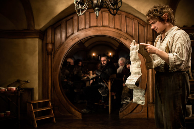 """Martin Freeman joins a cast of Tolkein veterans to play Bilbo Baggins in """"The Hobbit."""""""