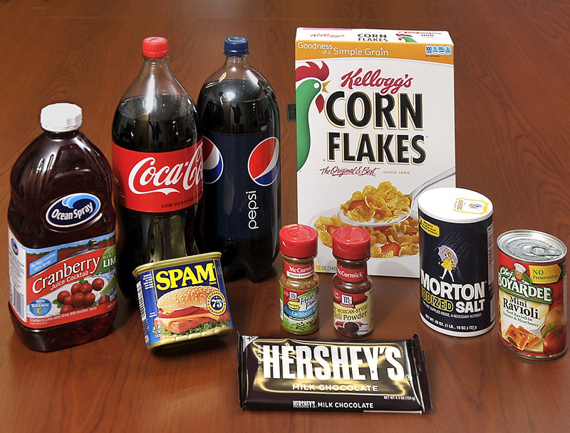 May contain genetically engineered ingredients? Companies that include Ocean Spray, Hormel, Coca-Cola, PepsiCo, McCormick, Hershey's, Kellogg's, Morton Salt and ConAgra Foods have donated millions of dollars to defeat a California referendum that would require foods containing genetically engineered foods to be labeled.