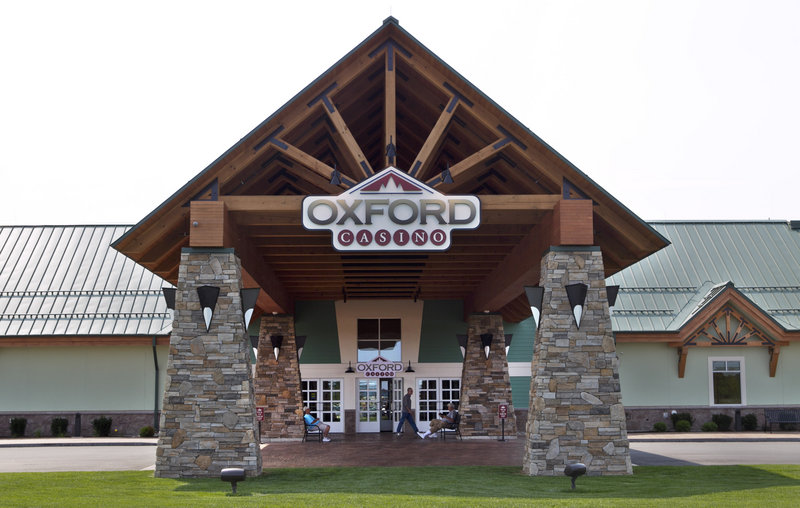 The recently opened Oxford Casino in Maine.