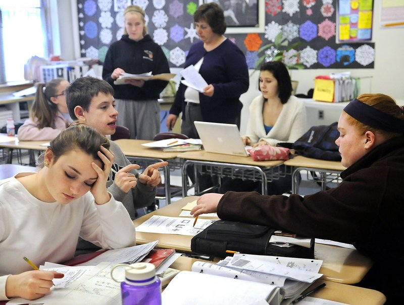 To be better prepared for the future, Maine students need to learn more than how to score a high mark on a standardized test – they need to practice their problem-solving and critical-thinking skills, says the president of the state teachers' union.