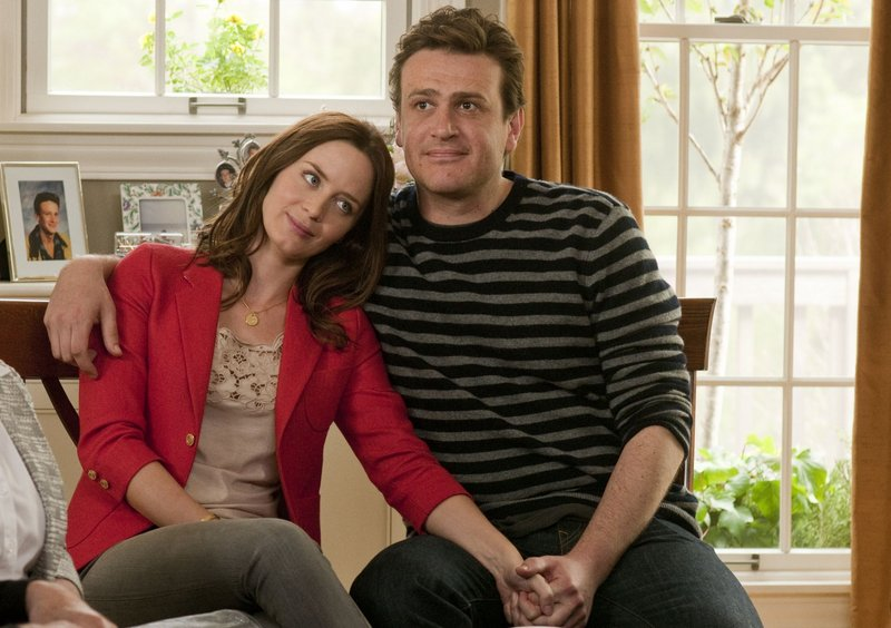 "Emily Blunt and Jason Segal in ""The Five-year-Engagement."""