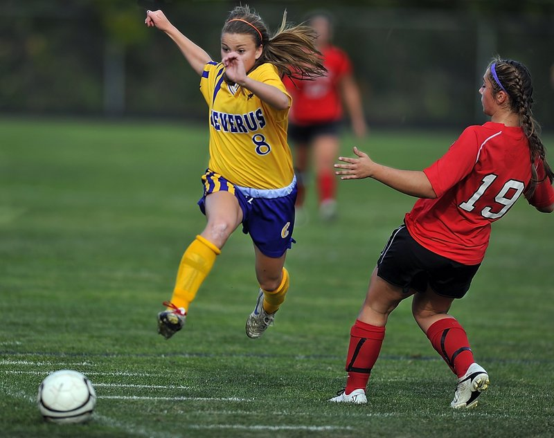 Abby Maker scored 10 goals last season for Cheverus and remains a threat for a team that should contend.