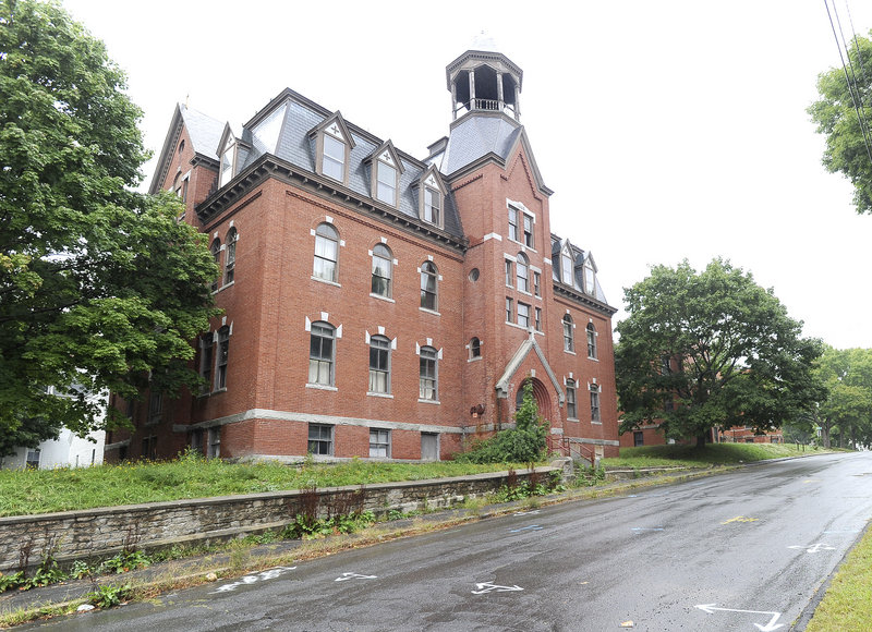 The former school and convent associated with St. Hyacinth's Church on Walker Street in Westbrook will form part of a 37-apartment complex.