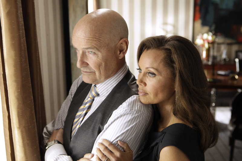 "Terry O'Quinn and Vanessa Williams in ABC's ""666 Park Avenue."""