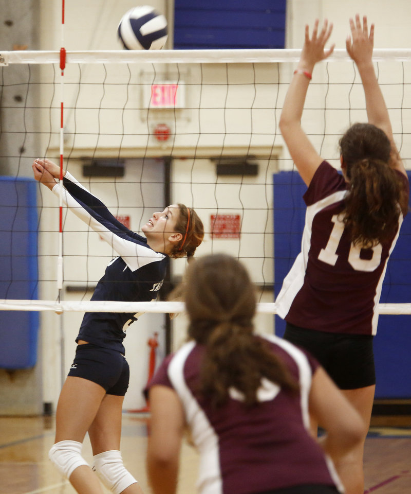 Megan Smith and her Yarmouth teammates are expected to contend for a second straight Class B state championship.