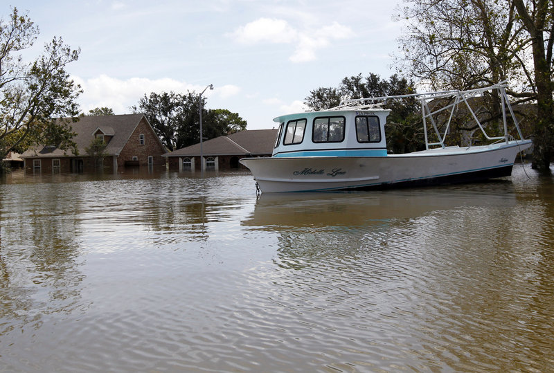 It's not just stranded boats hurting crabbers in Louisiana, as power outages and a lack of ice are also taking a toll.