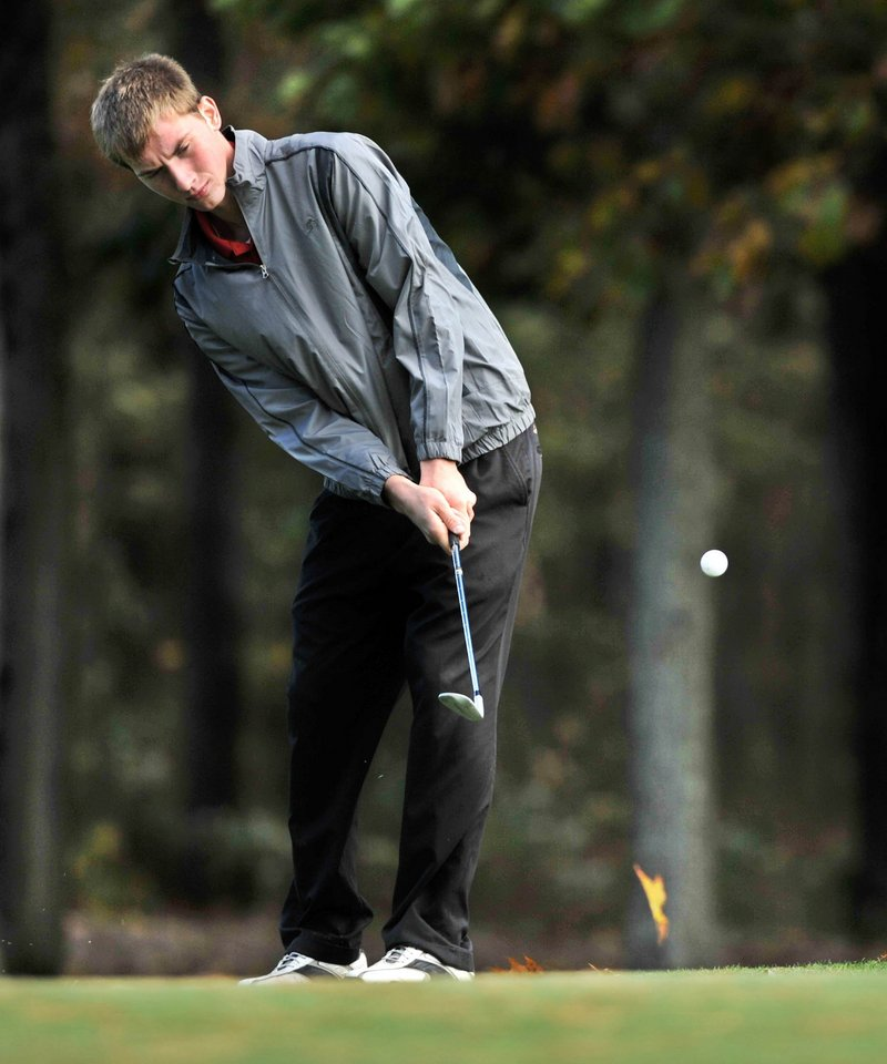 Ben Bell, who attends Sanford Christian Academy but plays for Sanford High, shared the Class A individual title last fall.