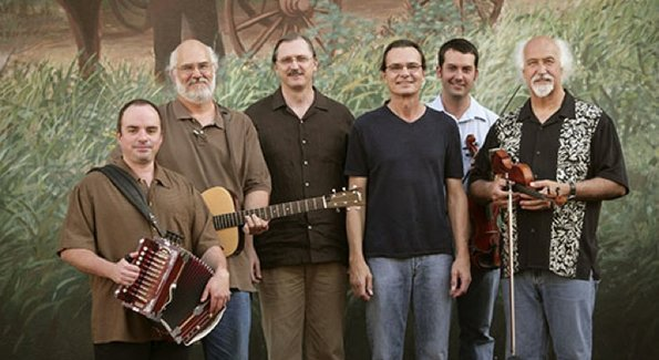BeauSoleil brings its rollicking Cajun sound to One Longfellow Square in Portland on Saturday.