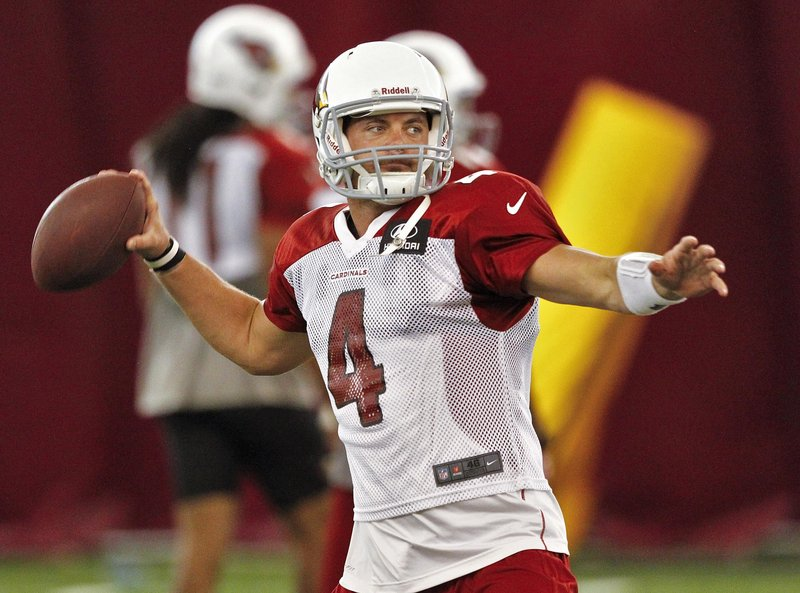 Arizona's Kevin Kolb may start at quarterback against New England on Sunday, after starter John Skelton was hurt against Seattle – a win made possible by Kolb's late TD pass.