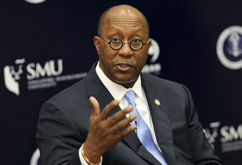U.S. Trade Representative Ron Kirk said the goal of his office is to have trade policies that are fair and balanced, while protecting the U.S. manufacturing base.