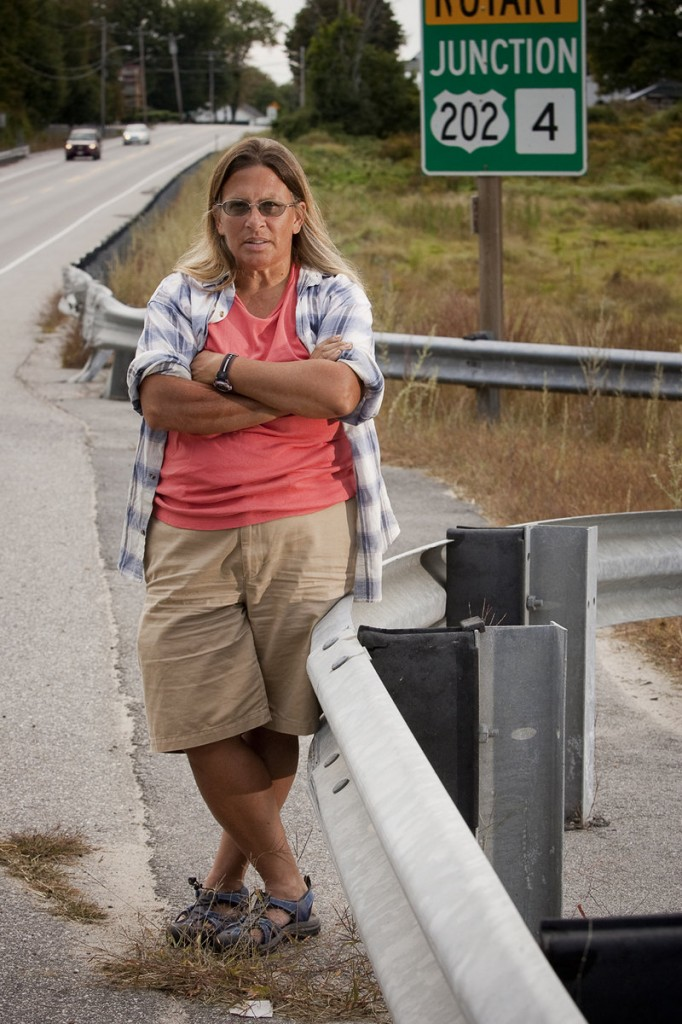 Margaret Pinchbeck owns land near the intersection of routes 302 and 202 in Windham that could cost her more than $10,500 in fees if a new sewer system is built.