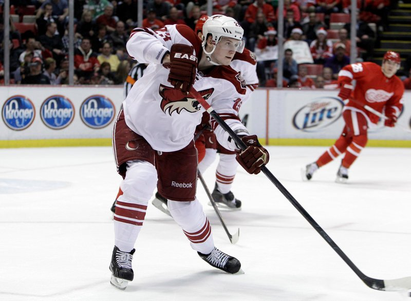 Oliver Ekman-Larsen, a 21-year-old defenseman from Sweden, spent all of last season playing for the Phoenix Coyotes. He had 13 goals and 19 assists in 82 regular-season games, and is headed for Portland.