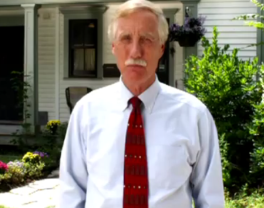 "Angus King, independent candidate for U.S. Senate, in a TV ad that says while he was governor Maine received its ""highest bond rating ever,"" a claim that's not accurate, according to State Treasurer Bruce Poliquin."