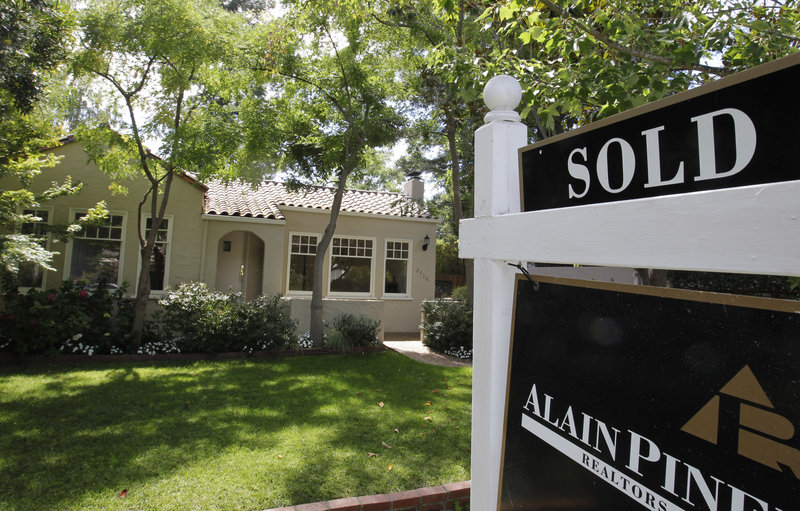 This property in Palo Alto, Calif., is part of the U.S. rise in sales of previously occupied homes – jumping in August to the highest level in more than two years.