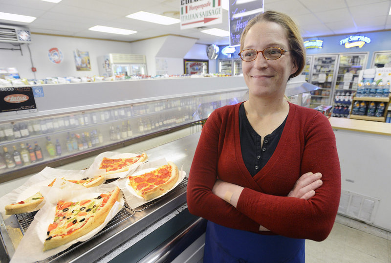 "Vanessa Gilliam of Portland has a new job at Colucci's Market on Munjoy Hill in Portland, but it took her three anxious months to find it after she quit her old job. ""I thought I could get another job just like that,"" said Gilliam, 33. ""I didn't know how bad things were until I left."""