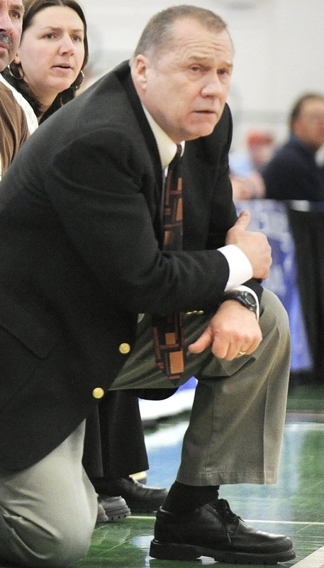 Ron Cote, who has been coaching for nearly 40 years, is on the verge of being hired as the girls' basketball coach at Scarborough High.