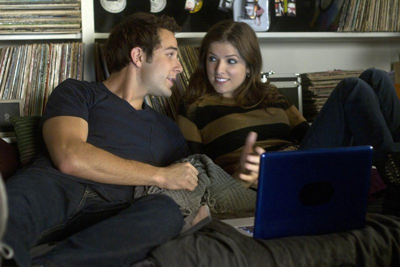 "Skylar Astin and Portland native Anna Kendrick in ""Pitch Perfect."""