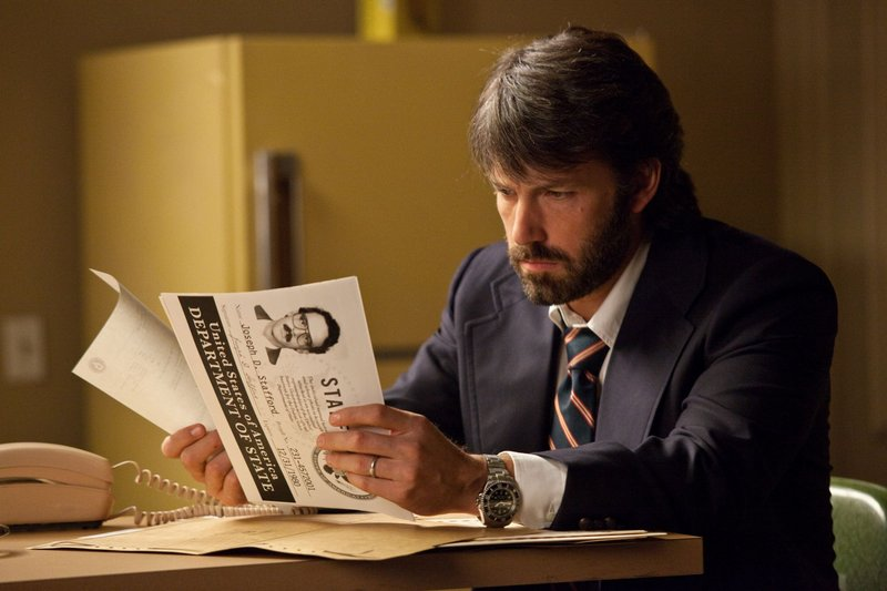 "Ben Affleck in ""Argo,"" based on the story of six Americans hiding out in Iran during the hostage crisis of 1979-1980."