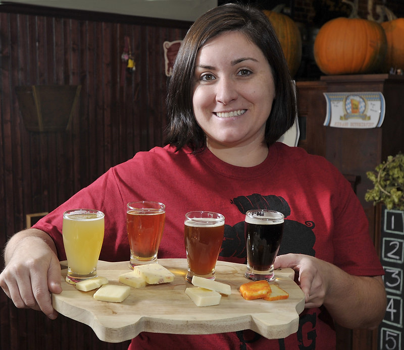 "Organizer Allison Stevens says that Portland Beer Week ""is about beer in the community and beer as a culture ..."""