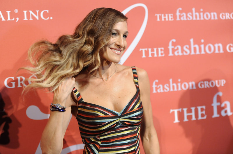 Sarah Jessica Parker attends the Night of Stars gala presented by Fashion Group International at Cipriani Wall Street on Thursday in New York.