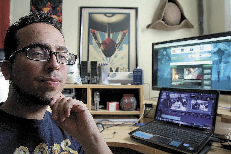 Emmanuel Ortiz of Lancaster, Mass., has founded NerdCaliber.com, an online lifestyle magazine website.
