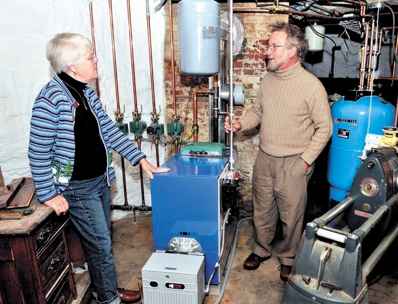 Alice and David Anderman of Waterville participated in an energy-efficiency program. They took out a 15-year home equity loan to complete the project.