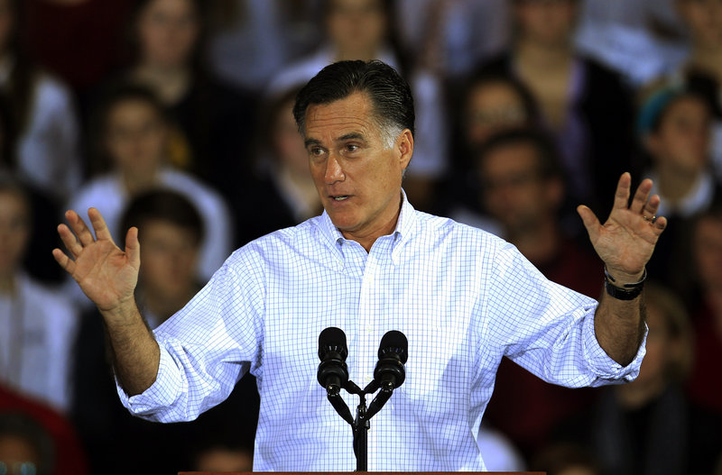 "Citing Republican candidate Mitt Romney's opinions on abortion, immigration and the Affordable Care Act, a reader says, ""It's now apparent that Romney will say or do anything to be elected president."""