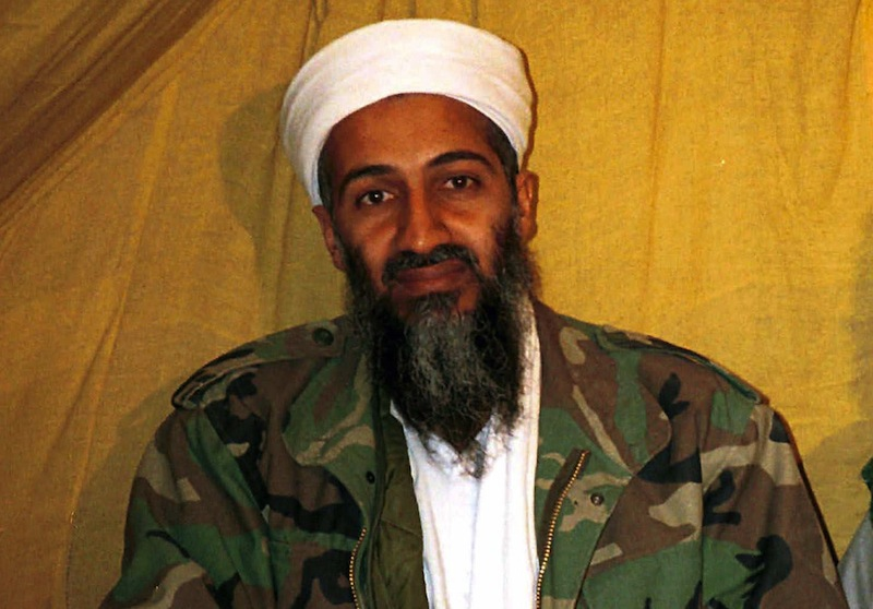 This undated file photo shows al Qaida leader Osama bin Laden in Afghanistan. Internal emails among senior U.S. military officials reveal that no sailors watched Osama bin Laden's burial at sea from the USS Carl Vinson and traditional Islamic procedures were followed during the ceremony. The emails, obtained by The Associated Press through the Freedom of Information Act, are heavily blacked out, but are the first public disclosure of information about the al-Qaida's leader's death. (AP Photo)