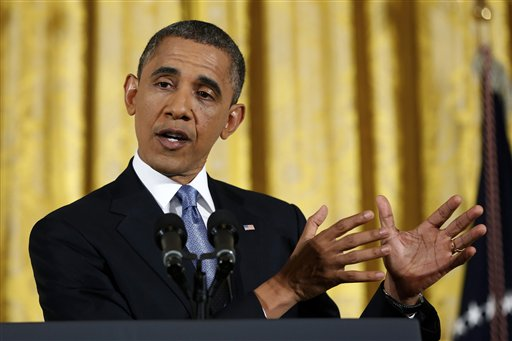 President Barack Obama answers a question during a news conference at the White House recently. Black leaders are trying to leverage a greater share of attention from both Obama and Congress.