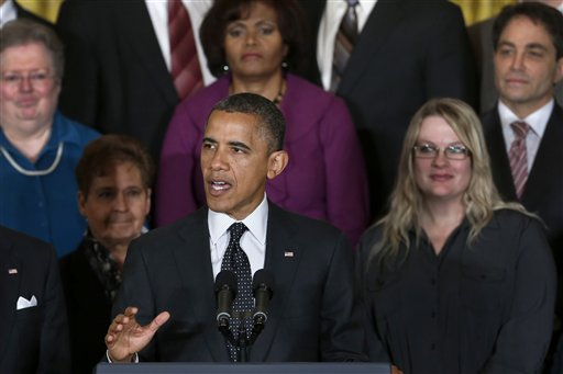 President Barack Obama speaks about the economy and the deficit on Friday at the White House.