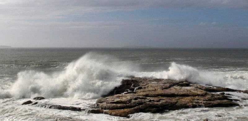 The pounding surf on the Phippsburg shore during Sandy evoked Homer and Marin and countless others who have striven to capture the drama on canvas.