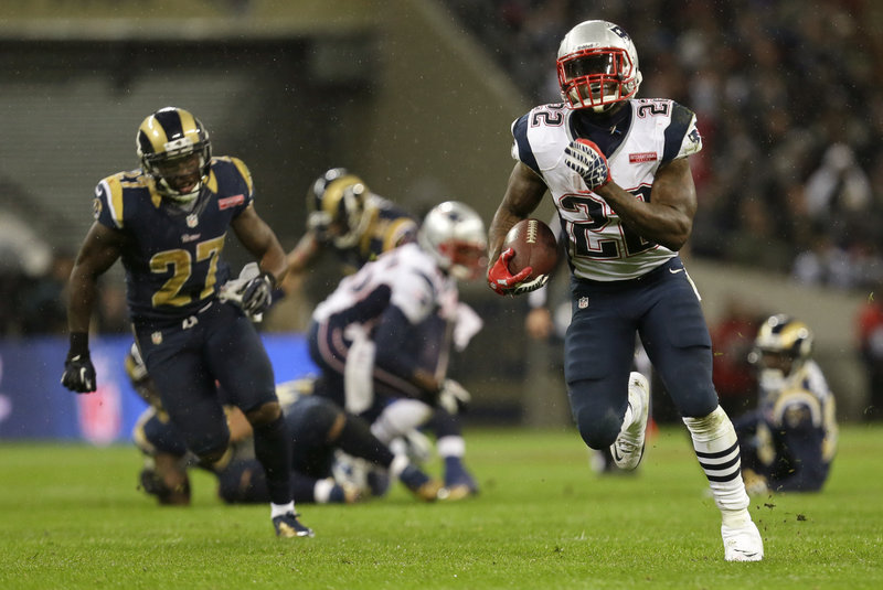 Stevan Ridley: Leads AFC with 716 rush yards