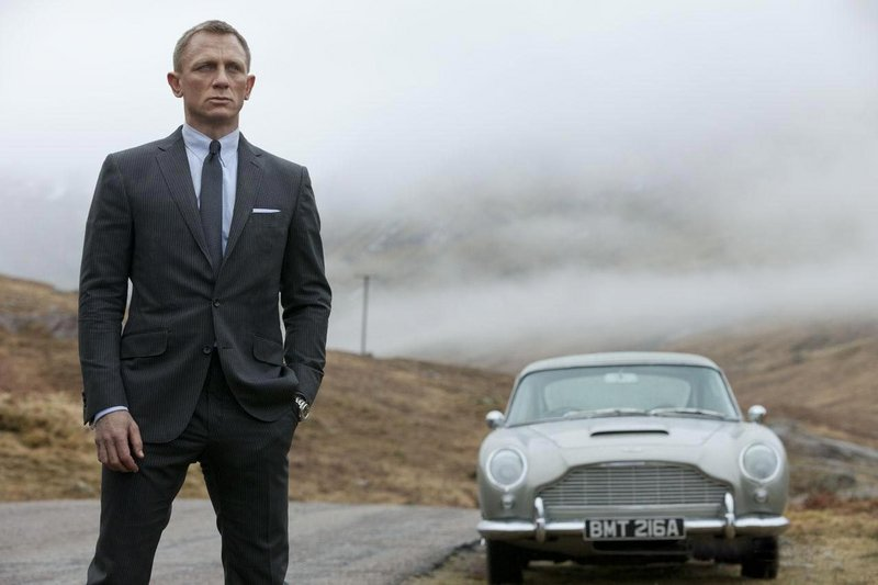 "Daniel Craig takes his third turn as Bond in ""Skyfall."""