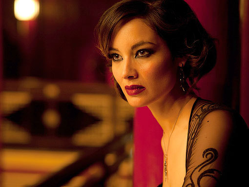 "Berenice Marlohe is the ""Bond Girl"" Severine in"