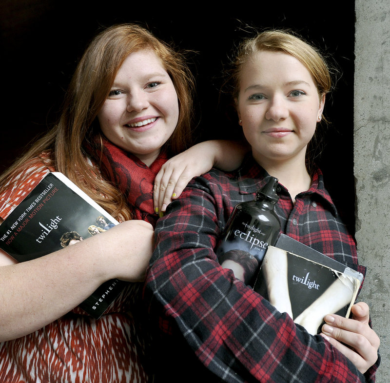 "Sisters Beth and Katie Kusturin of Gorham expect to see ""Breaking Dawn – Part 2"" at least twice, the better to catch the subtleties that they might miss in the excitement of the first viewing."