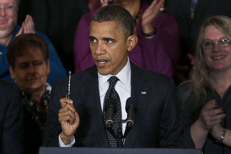President Obama, above, and House Speaker John Boehner, below, both said Friday that they are willing to compromise to strike a deal aimed at averting automatic deficit-reduction measures set to go into effect Jan. 1.