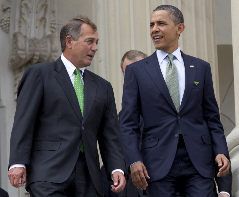 Will House Speaker John Boehner of Ohio and President Obama be able to strike a deal on deficit reduction and tax reform? Both men say they are willing.