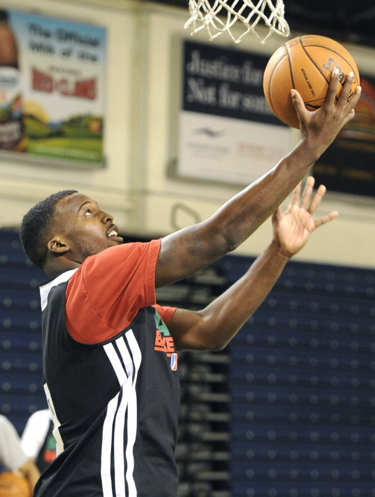 Shelvin Mack was a backup point guard for the Washington Wizards last year. His release from the team caught him by surprise, but he is hoping to get another chance on the big stage by making his mark with the Maine Red Claws.