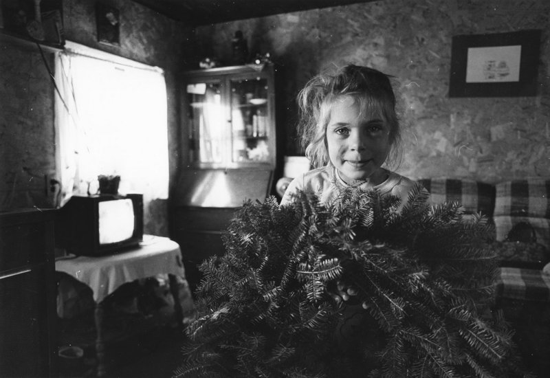 """""""Amanda,"""" gelatin silver print by Olive Pierce at Jonathan Frost Gallery in Rockland."""