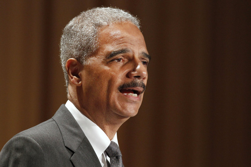 Attorney General Eric Holder Jr. on Thursday attempted to quiet criticism about his department's decisions during the Petraeus investigation.