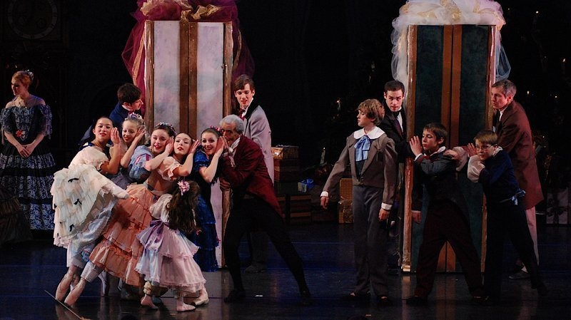 "Portland Ballet Company sets its ""Nutcracker"" in the Victoria Mansion. Several other groups are also presenting ""The Nutcracker"" this season."