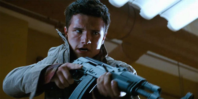 "Josh Hutcherson in ""Red Dawn."""