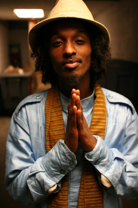 Somalia-born hip-hop artist K'Naan performs on Saturday at Bates College in Lewiston.