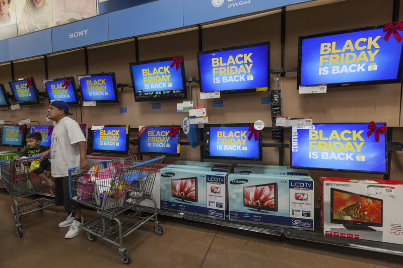 "Deep discounts on big-screen televisions make up many of the loss-leading, stampede-inducing ""doorbuster"" items that shoppers will find on sale this Black Friday."