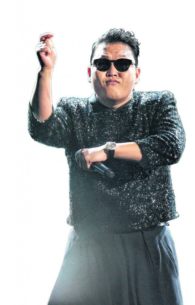 "South Korean rapper PSY performs ""Gangnam Style"" at the American Music Awards on Nov. 18 in Los Angeles. Dance enthusiasts in Maine say they are attracted to PSY's willingness to have fun."