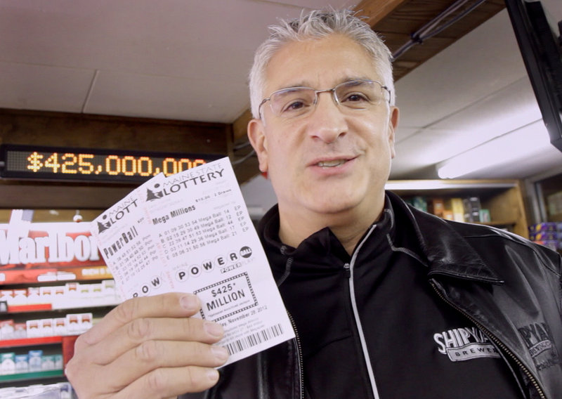 "Paul Sottery of Portland bought his Powerball tickets at Joe's Smoke Shop on Monday morning. Sottery is in charge of The Millionaires Club, a group of 30 people who pool their resources to buy lottery tickets every week. ""Someone is going to win, why not us?"" he said."