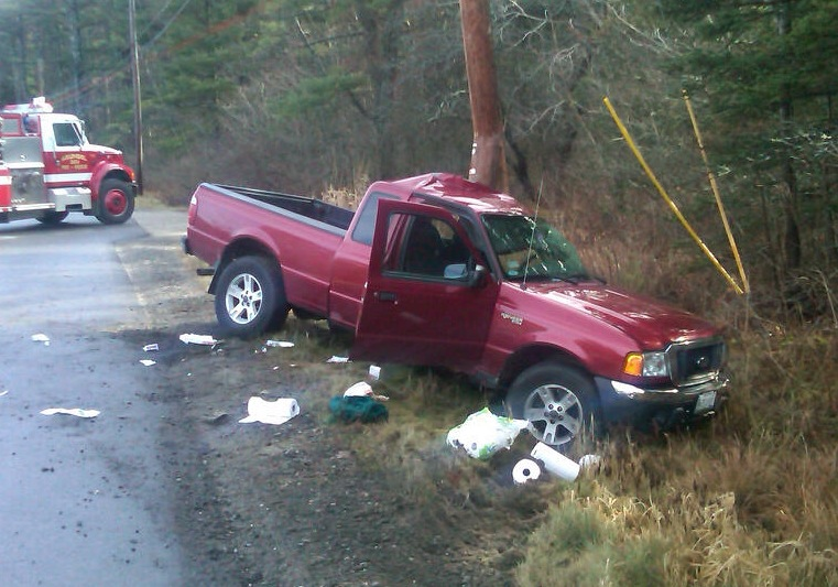 Jack Shangraw, 89, of Kennebunkport died Sunday morning when his 2004 Ford Ranger struck a utility pole off River Road in Arundel. Police said speed and road conditions may have contributed to the accident.